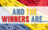 Early Registrant Contest Winners - Fall Fandango, 2014