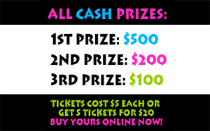 Win all cash prizes!